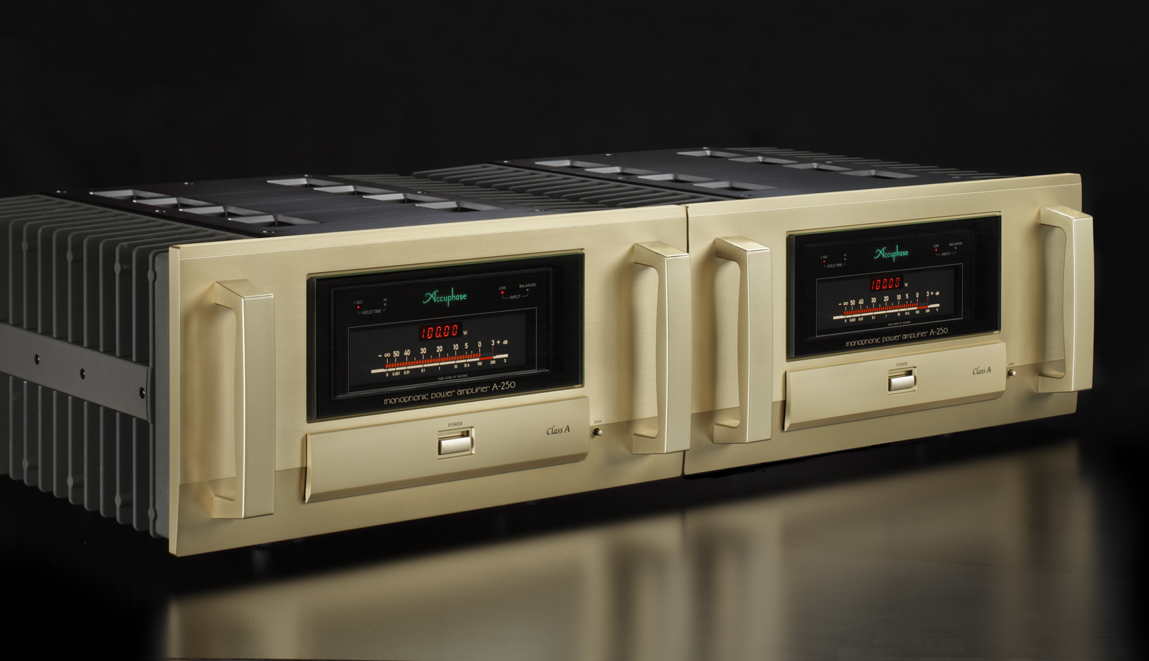 class a monophonic power amplifier a 250 accuphase laboratory inc. Black Bedroom Furniture Sets. Home Design Ideas