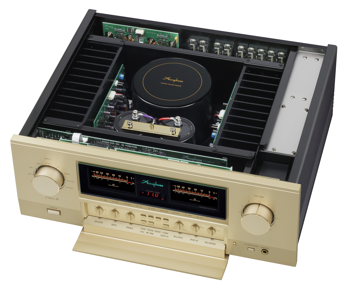 CLASS-A INTEGRATED STEREO AMPLIFIER E-650